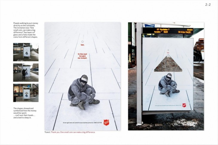 The Salvation Army ads