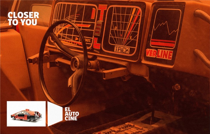 "The drive-in theater El Autocine is ""Closer to you"""