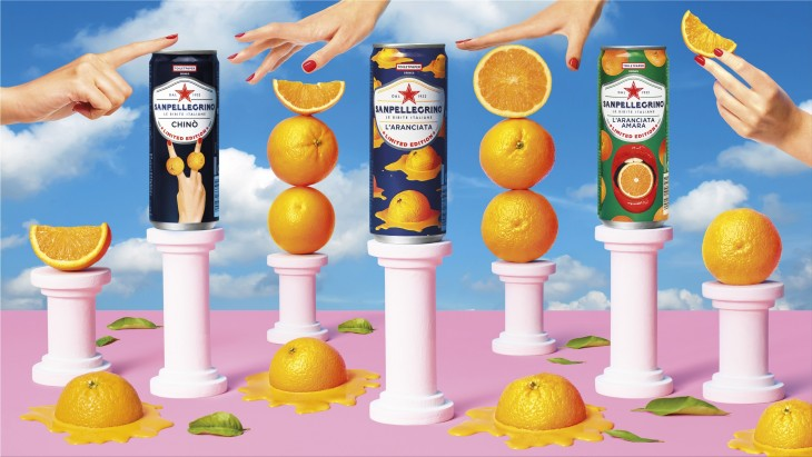 "The new San Pellegrino ""Limited Edition"" drinks"