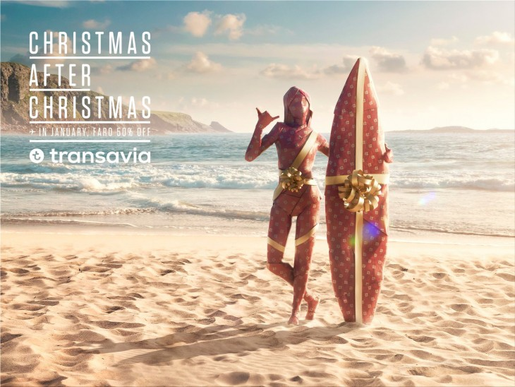 Transavia Airlines ads