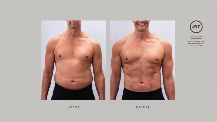 "UFit ""The After/Before Advertising Campaign"""