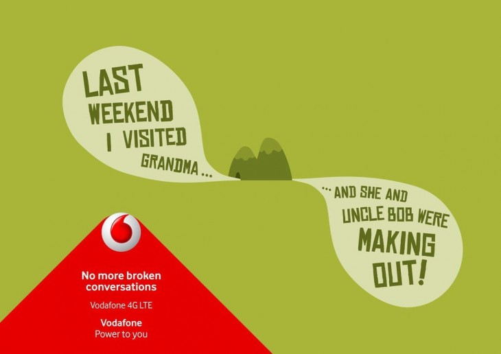 Vodafone: No more broken conversations