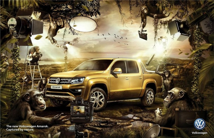 "Volkswagen: ""The new Volkswagen Amarok"" by MullenLowe"