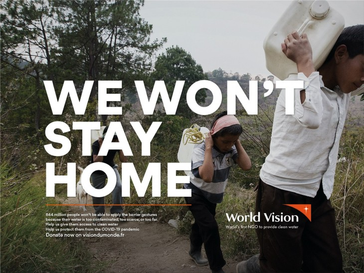 """World Vision: """"We Won't Stay Home"""" by Steve"""