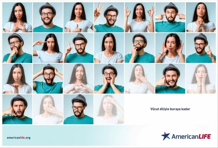"""American Life: """"Body Language Until Here!"""" by Graphx"""