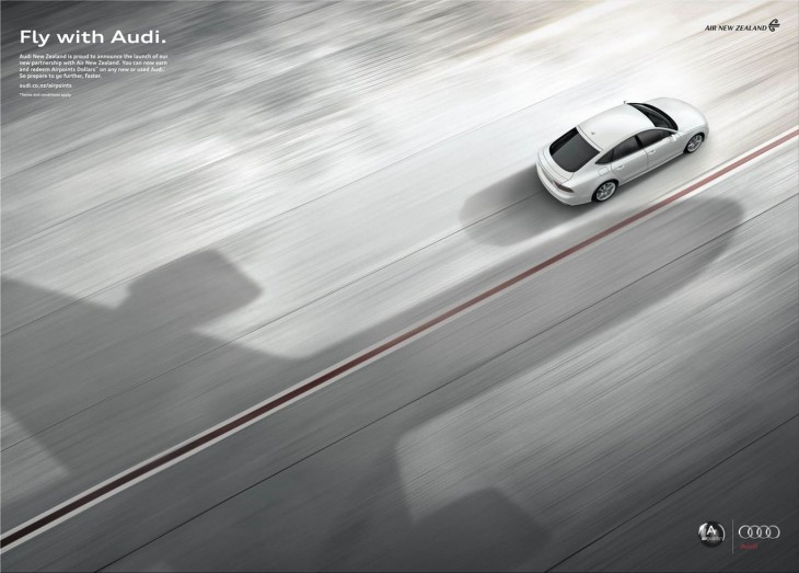 Fly with Audi