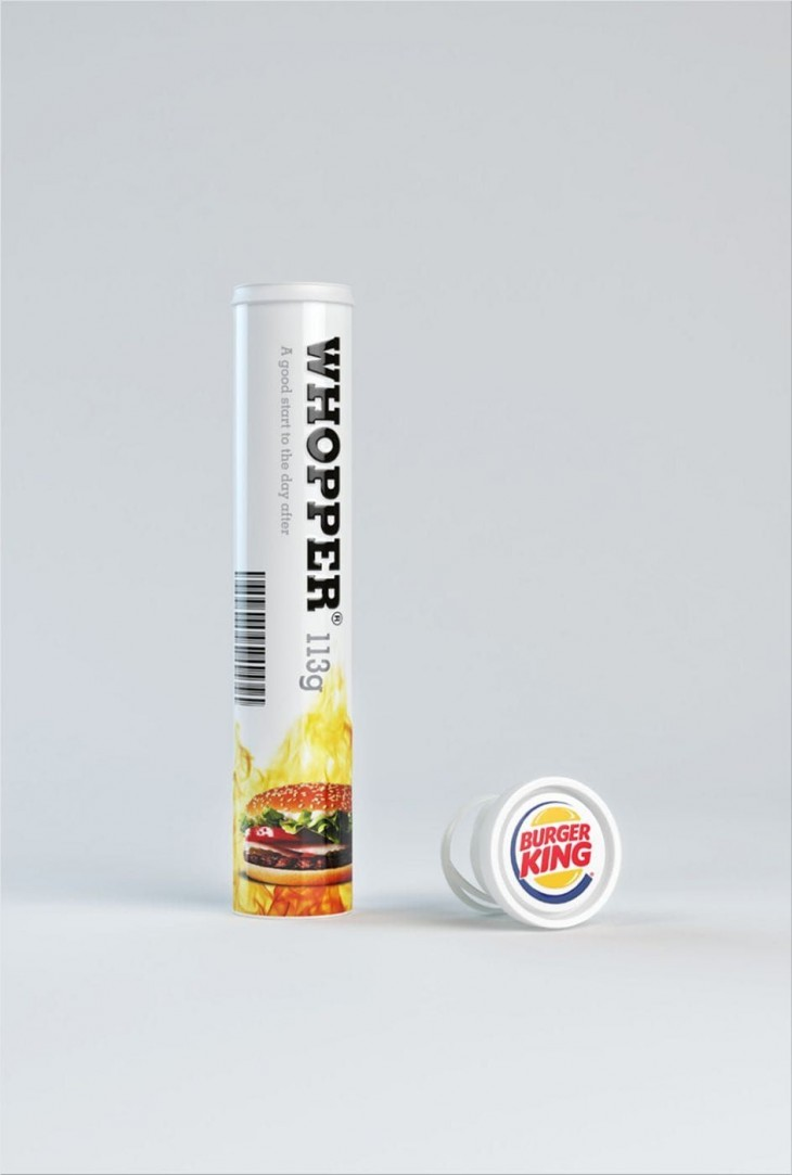 Burger King print ads