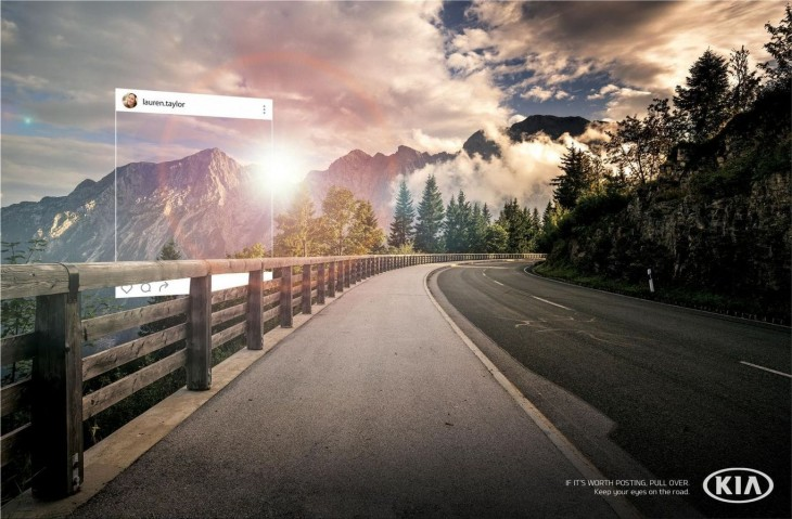 "Kia: ""Keep your eyes on the road."" by Innocean"