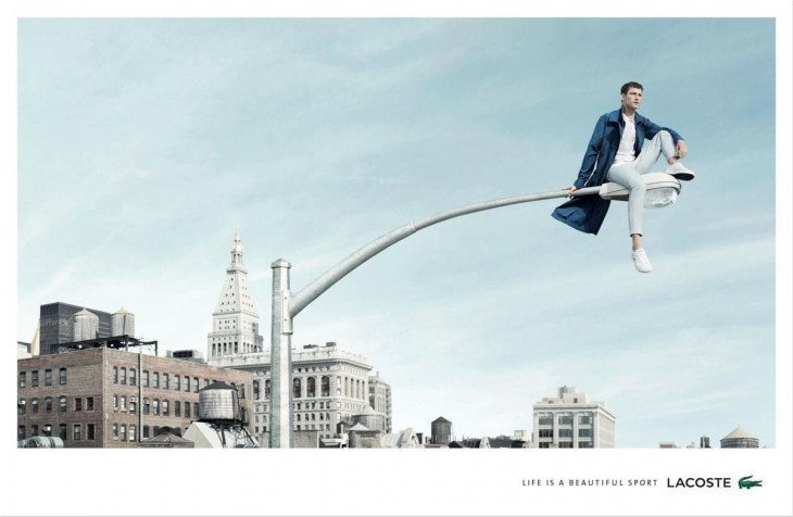 """Lacoste: """"Life is a beautiful sport"""" by BETC"""