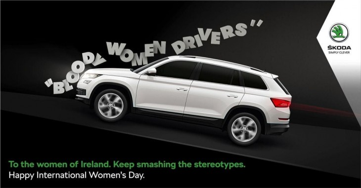 "Skoda: ""Bloody women drivers"" by Boys and Girls"