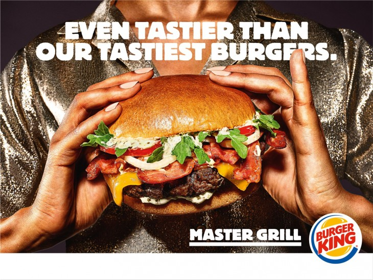 """Burger King """"Les Masters"""" Even tastier than our tastiest Burgers"""