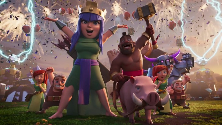 Clash of Clans ads