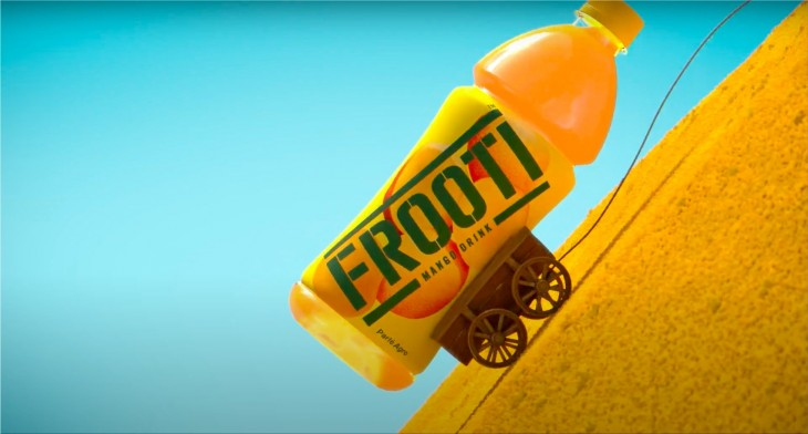 Frooti ads