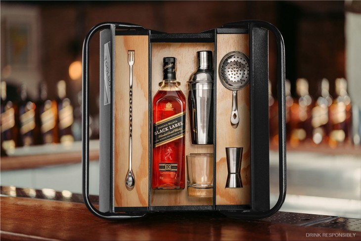 "Johnnie Walker ""Toolbox"" for Father's Day"
