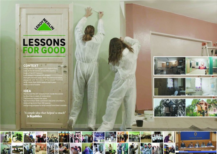 """Leroy Merlin """"Lessons For Good"""" by Publicis"""