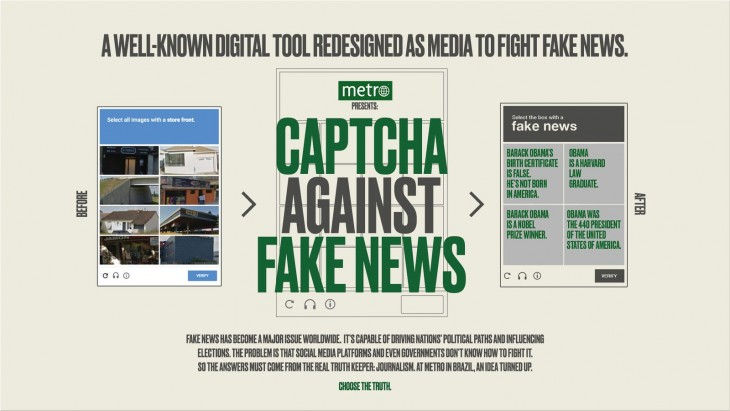 "Metro Jornal ""Captcha against Fake News"""