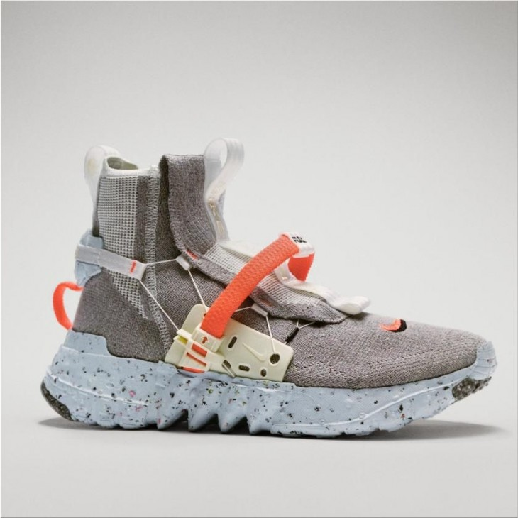 """Nike """"Space Hippie"""" Sneakers made from trash"""
