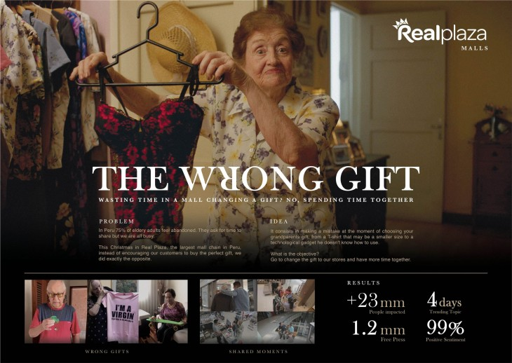 "Real Plaza ""The wrong gift"" by Fahrenheit DDB"