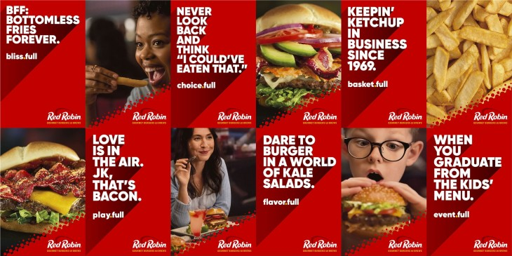 """Red Robin """"ALL THE FULLS"""""""