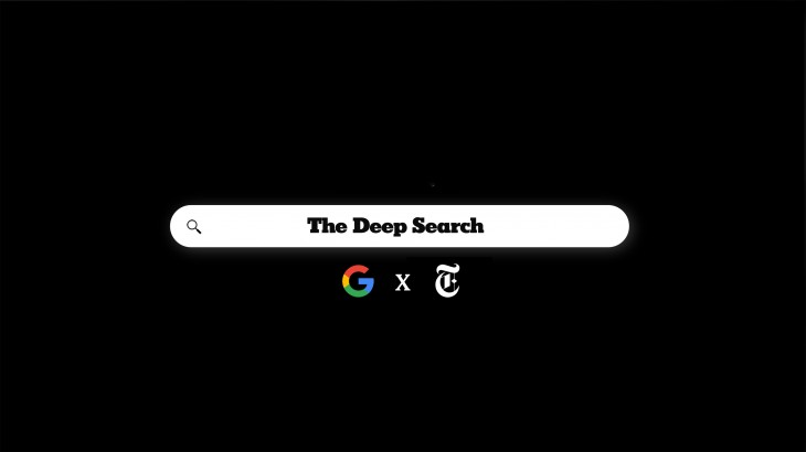 "The New York Times ""The Deep Search"""