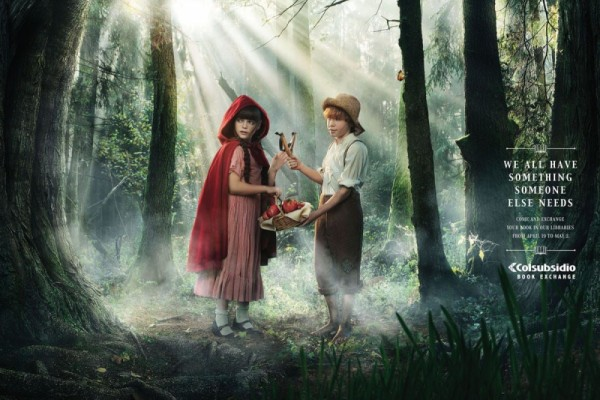 Little red riding hood & Tom Sawyer