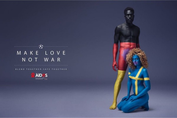 Aides: Make love Not war