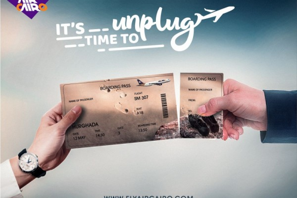 """Air Cairo """"It's Time To Unplug"""""""
