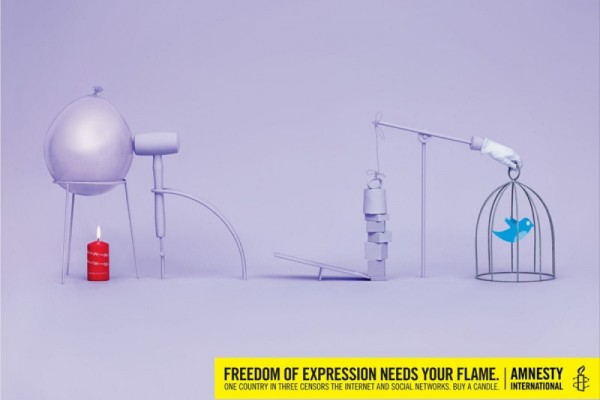 Amnesty International print ads