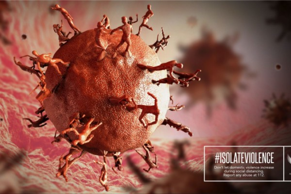 Anais Association #IsolateViolence by Cheil ad agency