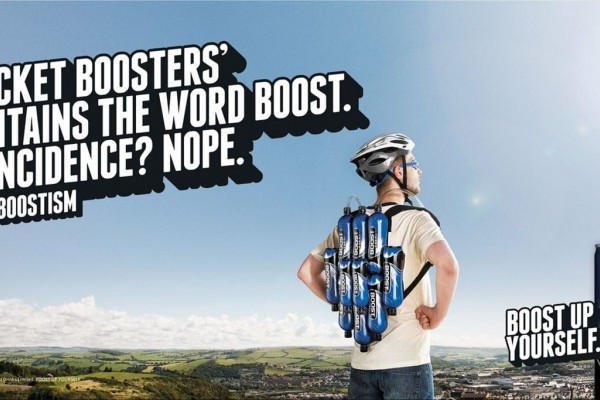 Boost Drinks outdoor ads