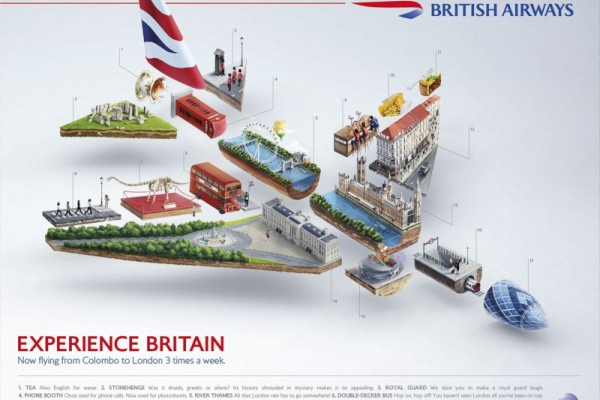 British Airways ads