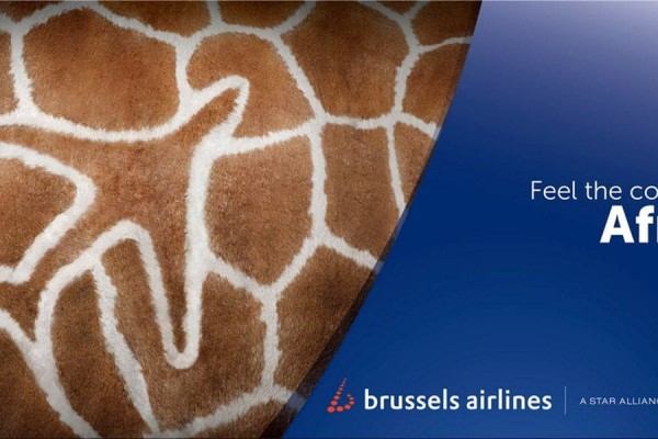 Brussels Airlines ads