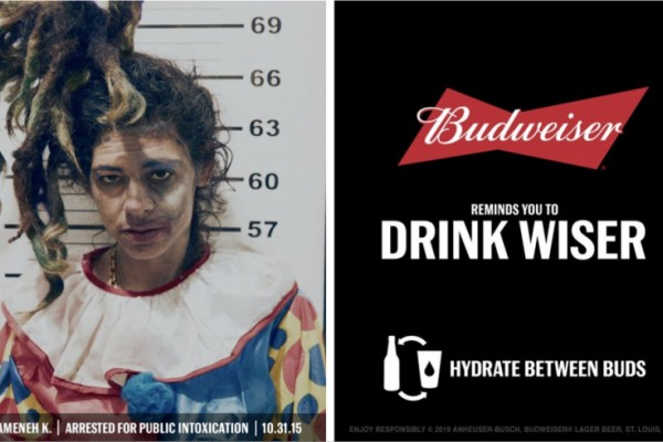 "Budweiser ""Don't Let Halloween Haunt You Forever"""