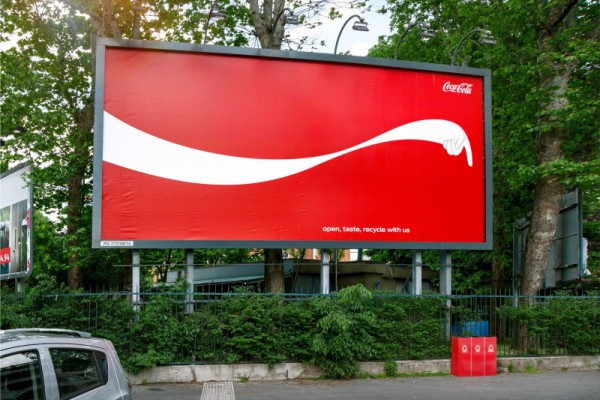 "Coca-Cola ""open, taste, recycle with us"""