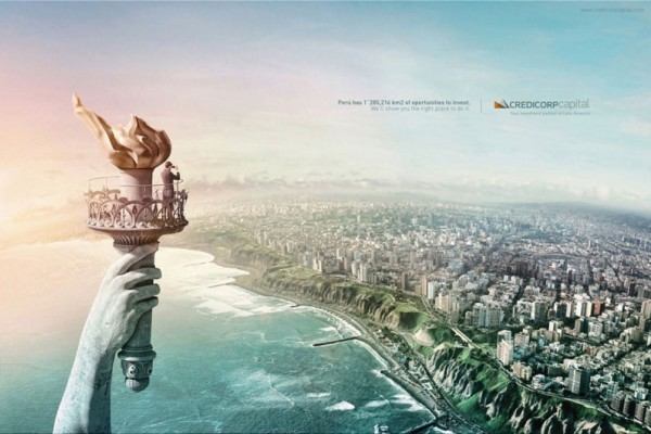 Credicorp Capital print ads