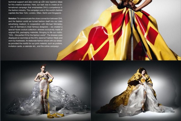 Haute Couture by DHL