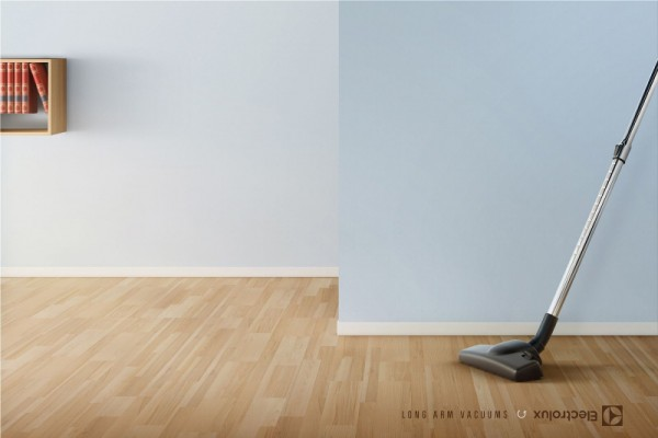 "Electrolux: ""Long arm vacuums"""
