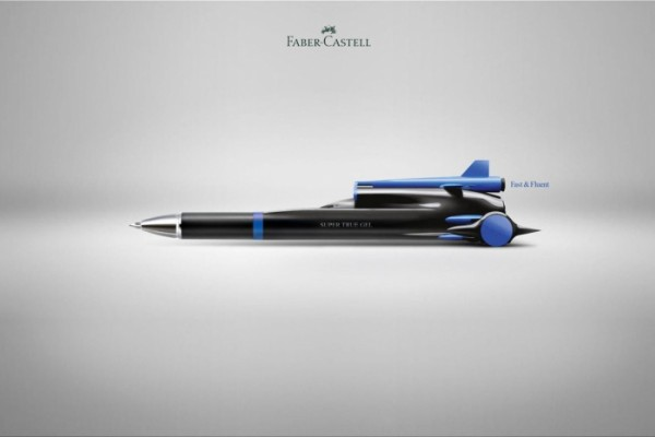 "Faber-Castell: ""Fast & Fluent"" by FCB"