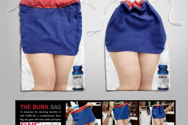 GNC Burn 60 ads