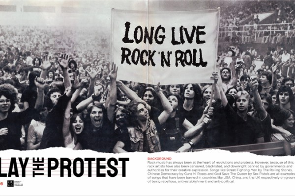 """Google + HMCT """"Play The Protest"""""""