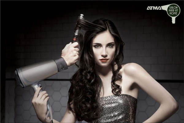 Hairdryer ads