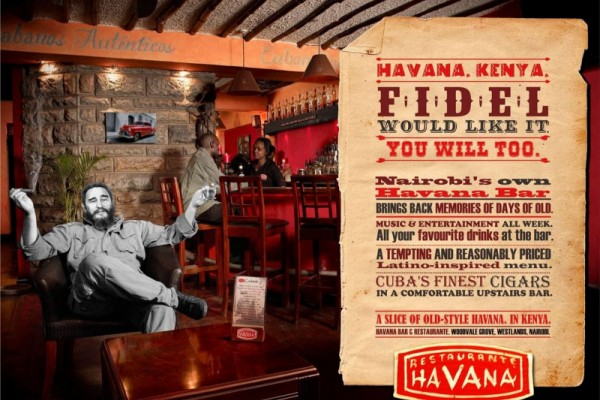 Havana Bar & Restaurant ads
