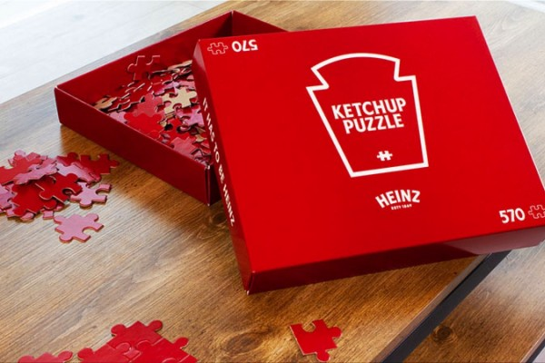 "Heinz ""Ketchup Puzzle - Contest"""
