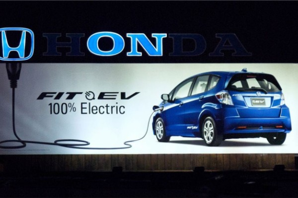 Honda Fit EV ads
