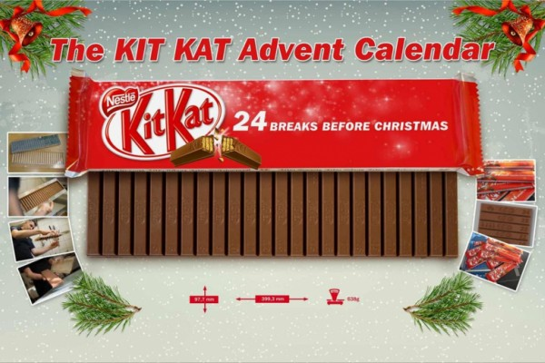 Kit Kat Advent Calendar