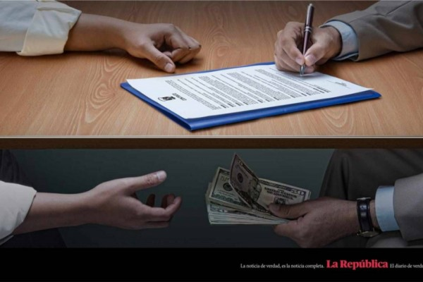 La Republica print ads