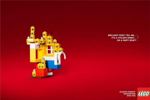 "Legoland: ""Building parents' imaginations since 1932"" by Brad"