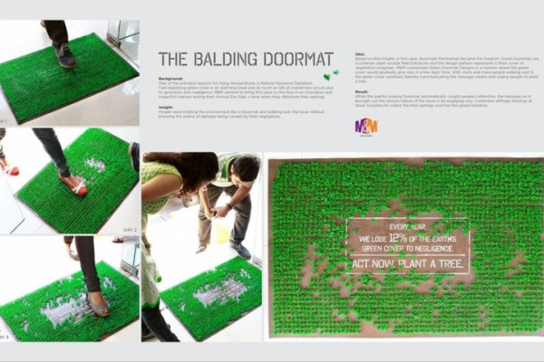 M&M ambient ads