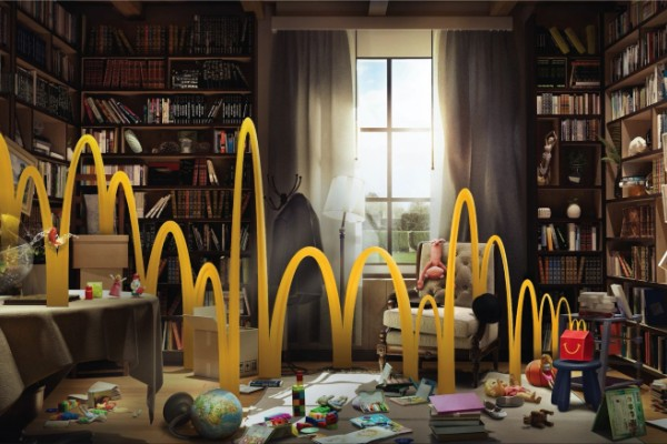 "McDonald's ""Kids energy"" print ads"