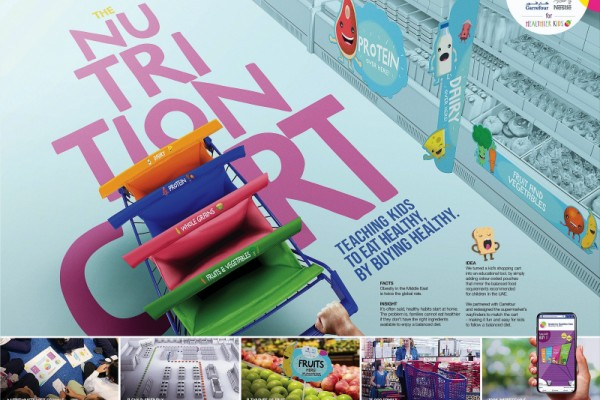 Nestle Nutrition Cart is Teaching kids to eat healthy